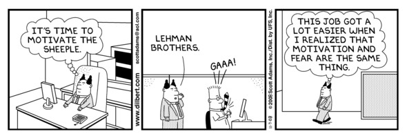 Lehman Brothers comic