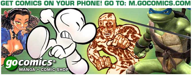 Get comics on your mobile phone