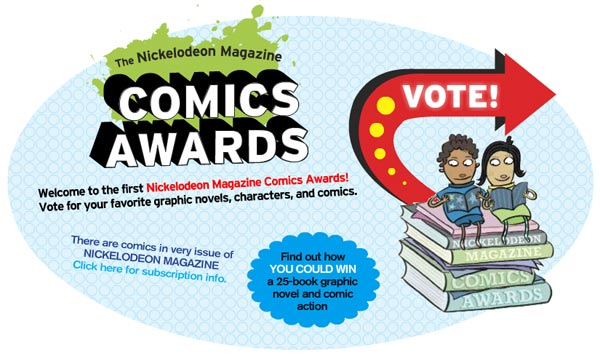 Nickelodeon Magazine Comics Awards