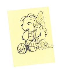 Post-It Note Linus