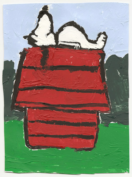 A Contented Snoopy