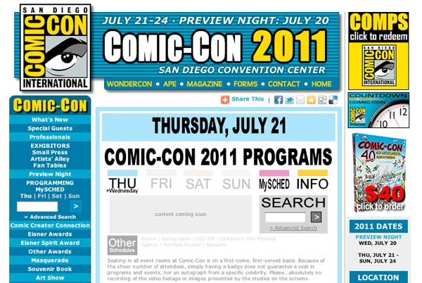 SDCC Thursday