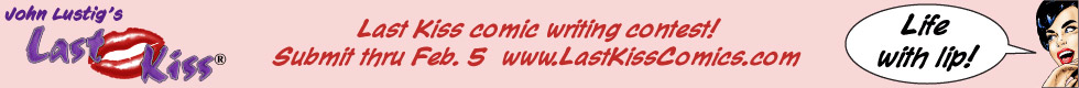 Last Kiss Comics Writing Contest