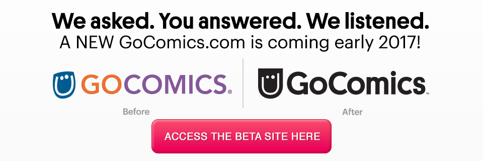 Test-drive the new GoComics.com beta site