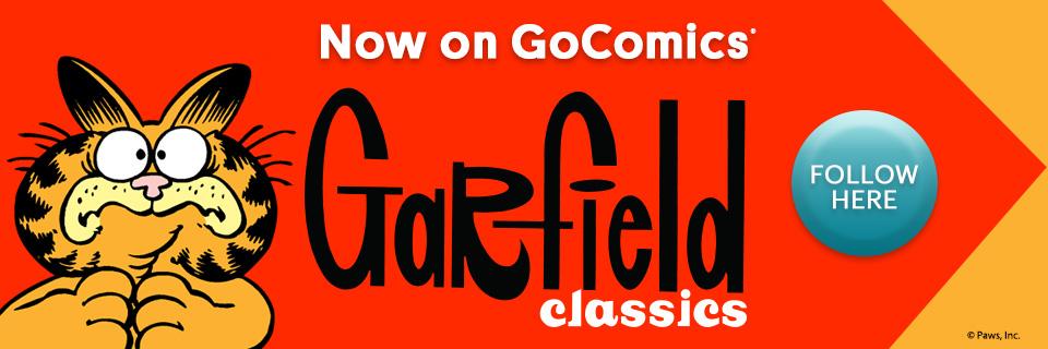 NOW ON GOCOMICS: Garfield Classics by Jim Davis