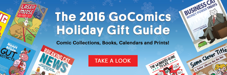 2016 GoComics Holiday Gift Guide