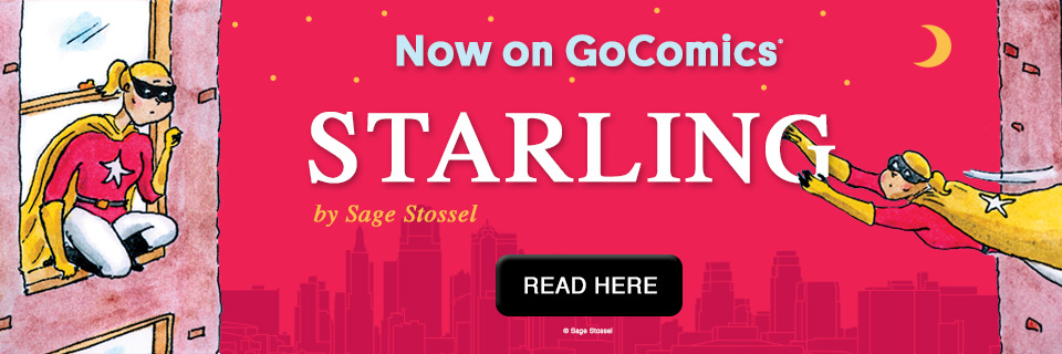 NEW COMIC: Starling by Sage Stossel