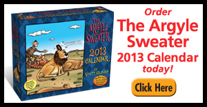 2013 Argyle Sweater Calendars