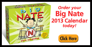 2013 Big Nate Calendar