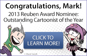 Congratulations, Mark Tatulli!