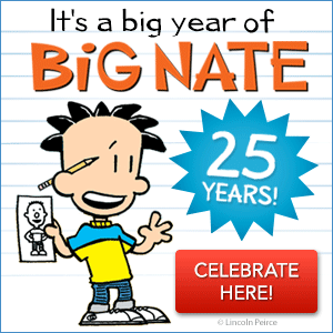 Big Nate's 25th Anniversary