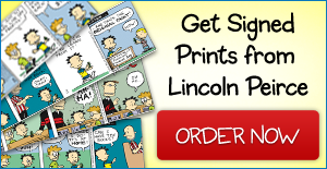 Big Nate Autographed Prints by Lincoln Peirce