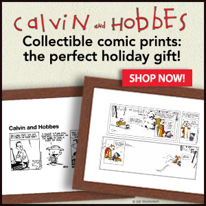 Collectible Prints of Calvin and Hobbes by Bill Watterson