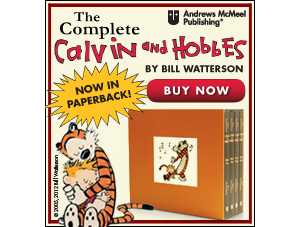 Order the Complete Calvin and Hobbes in Paperback TODAY!