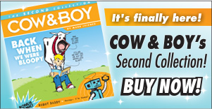 Cow and Boy comic