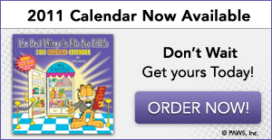 2011 Garfield Calendar