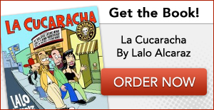 Shame! la cucaracha comic strip