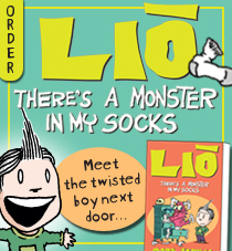 Lio - There's a Monster in My Socks