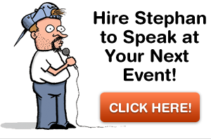 Hire Stephan to speak at your next event!