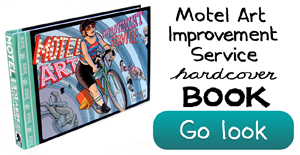 Motel Art Book by Jason Little
