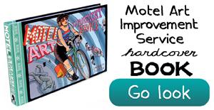 Motel Art Book by Jason Little
