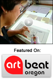 See Jan Featured on Art Beat Oregon