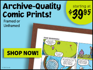 Buy Tank McNamara Comic Prints