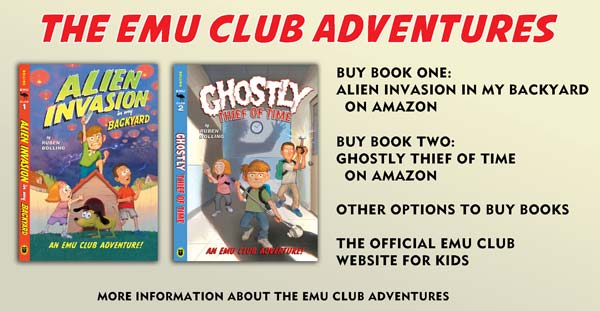 The EMU Club Adventures by Ruben Bolling