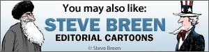 You may also like Steve Breen