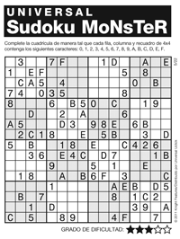 It is a photo of Obsessed Monster Sudoku Printable