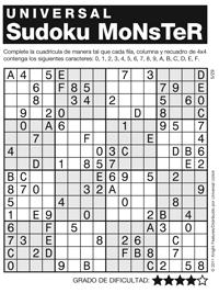 Légend image inside monster sudoku printable