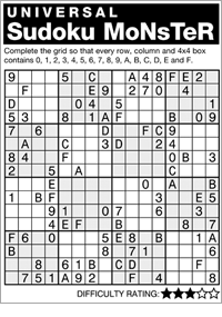 graphic about Monster Sudoku Printable named Andrews McMeel Syndication - Dwelling